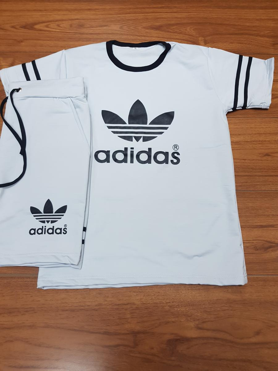 ac7368355 Adidas Mens T-Shirt and shorts set - (1404) - TOP QATAR SHOP